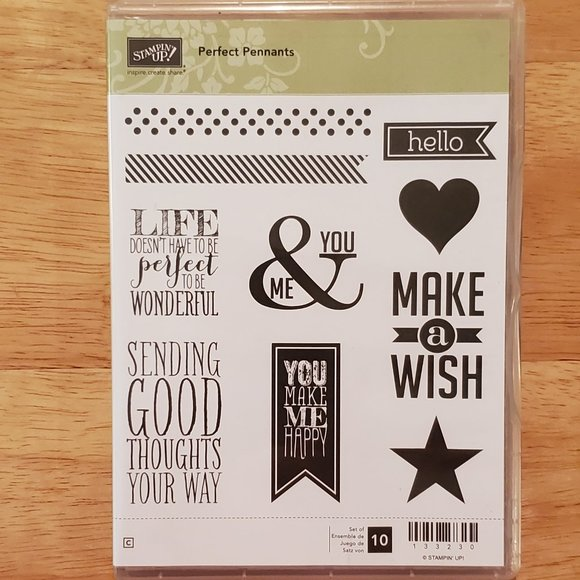 Stampin' Up! Perfect Pennants Stamp Set